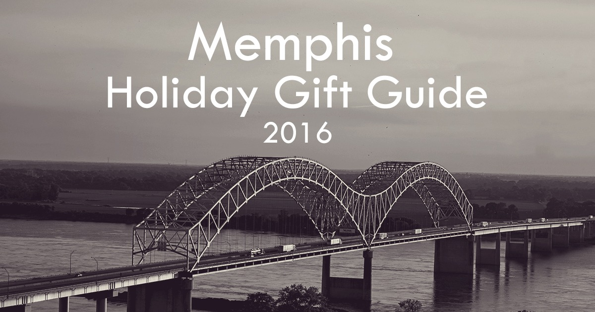 Memphis Holiday Gift Guide 2016 | Germantown, Collierville, Cordova, TN | Shopping Gift Ideas Christmas