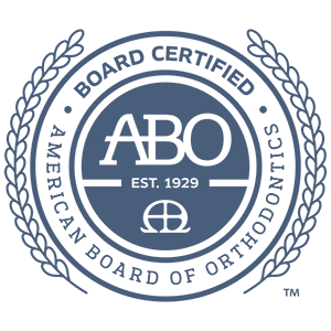 Board Certified ABO logo