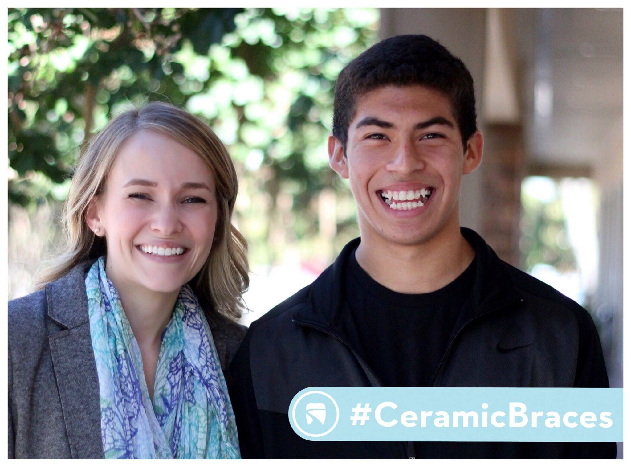Ceramic Braces on Teenager | Braces Memphis | Saddle Creek ortho