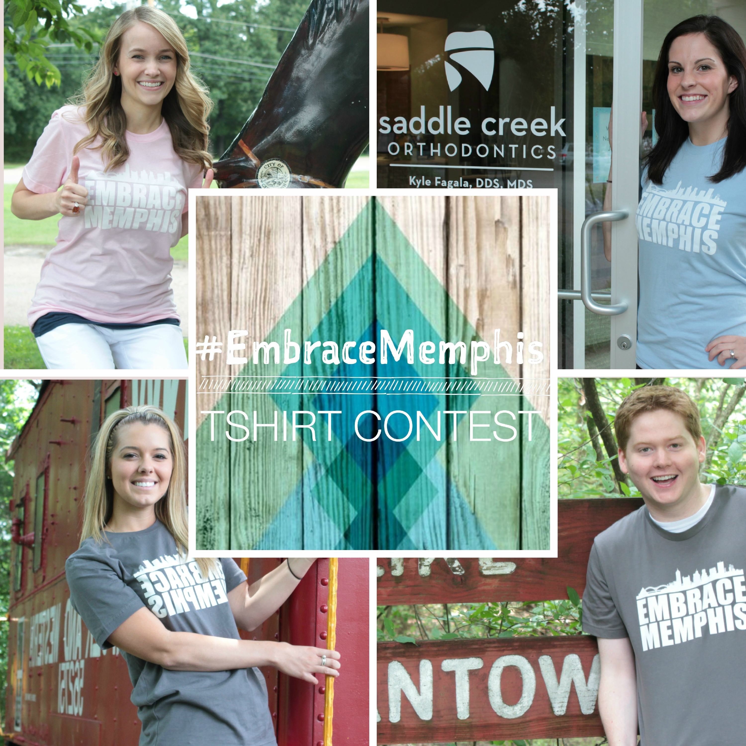 Saddle Creek Orthodontics | Embrace Memphis T-Shirts | Germantown Tennessee Landmarks