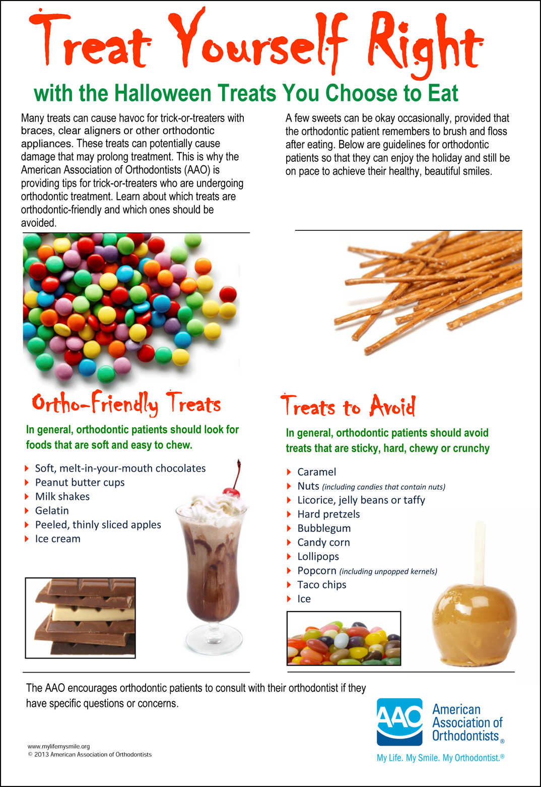 How to keep your braces clean this halloween dr kyle fagala aao halloween braces and candy saddle creek ortho solutioingenieria Images